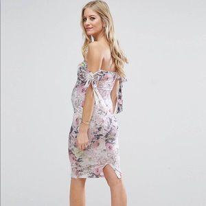 c94e2d92cc474 ASOS Maternity Dresses - ASOS Maternity Bow Bardot Midi Dress